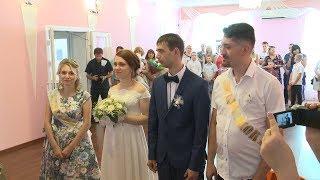 Свадьбу на языке жестов сыграли в Грачевском районе