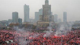 Польские ультраправые присоединились к шествию во главе с президентом…