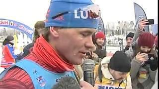 Участник Олимпиады в Корее Андрей Мельниченко стал победителем Дёминского марафона