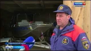 Репортаж о том, как готовятся к паводку в Кочелаево