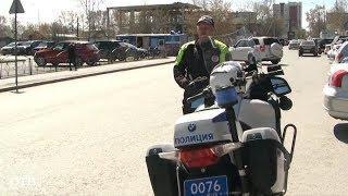 Гроза байкеров: на улицы Екатеринбурга выехал полицейский мотопатруль