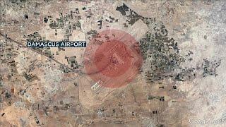 Израиль бомбит окрестности Дамаска?