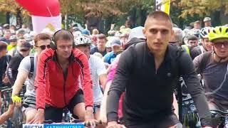 Неизвестные разбросали гвозди во время велопробега Калининград-Зеленоградск-Калининград