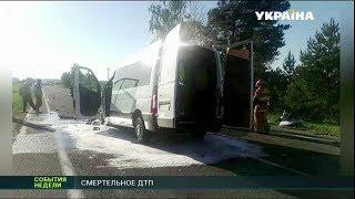 Юные украинские футболисты попали в ДТП на территории Беларуси