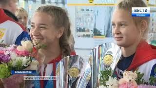 Приморские кикбоксеры вернулись из Италии со связкой медалей