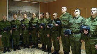 Волгоградские призывники отправятся служить в Президентский полк