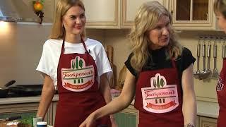 Гребешки и вкуснейшие тосты с красной икрой приготовят в   «Гастрономе» Наталия и Ксения Винник