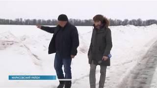 В Марксовском районе украли трубы системы орошения