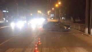 Полиция выясняет обстоятельства аварии, в которой пострадала 15-летняя девочка