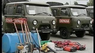 Владимирскому лесхозу и лесничествам новые автомобили