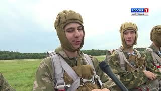 Кадеты из Москвы совершили под Костромой свои первые прыжки с парашютом
