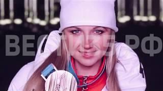 Анна Нечаевская подарила спортивной школе 100 пар новых лыж