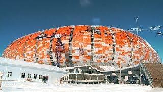 Официальный посол города организатора Алексей Немов отправился на стадион «Мордовия Арена»