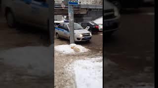 Авария на пересечении улиц Вокзальная и 16-й Белоглинский проезд