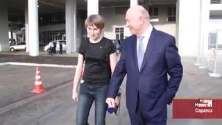 Государственный деятель и любитель футбола - Николай Меркушкин о стадионе «Мордовия - Арена»