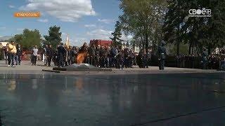 Губернатор Ставропольского края Владимиров принял участие в акции «Дороги Победы»