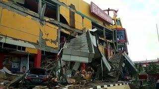 Жертвы и разрушения после землетрясения и цунами в Индонезии…