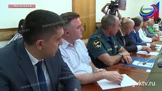 Владимир Васильев и Александр Матовников провели расширенное совещание в правительстве республики