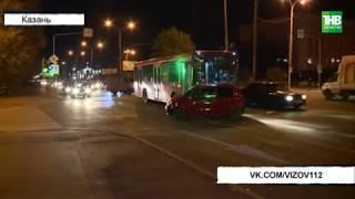 Резко тормозить водитель автобуса не стал, пожалев пассажиров, и протаранил Дэу Матиз | ТНВ