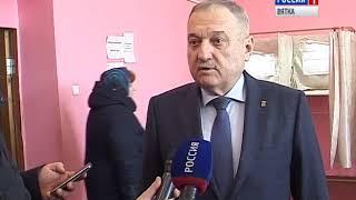Голосование главы региона Игоря Васильева и депутатов ОЗС (ГТРК Вятка)