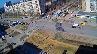 ДТП (авария г. Волжский) пр. Ленина ул. Академика Королева 11- 04-2018 14-18