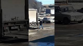 В Ставрополе на 2 ой Промышленной улице  произошел пожар