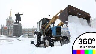 За неделю до мая Екатеринбург завалило мокрым снегом - СМИ2