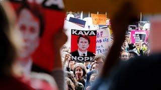 Акция протеста в Нью-Йорке. Как Америка готовится к финальному голосованию по кандидатуре Кавано