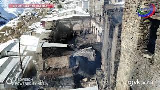 В Чародинском районе Дагестана сгорела мечеть XIX века