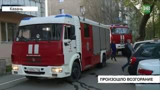 Жильцы дома по улице Серова чуть не отравились угарным газом во время пожара - ТНВ
