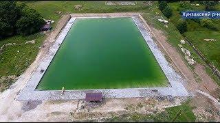 В Хунзахском районе открыли уникальный бассейн под открытым небом