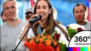 Российские паралимпийцы вернулись из Пхенчхана
