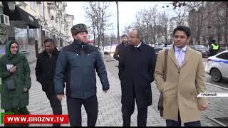Делегация из Индии встретилась с представителями власти Чечни