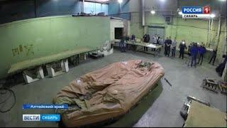 В Барнауле проводят испытания самовосстанавливающихся плотов