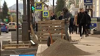 Дорожный ремонт в Красноярске завершится к 15 октября