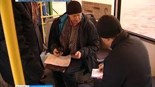 В Красноярске оштрафовали троих перевозчиков за грязные автобусы
