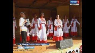 Жители маленькой чувашской деревни построили себе летнюю сцену