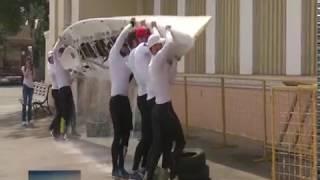 Заявка на мировой рекорд: ростовские гребцы пересекут Черное море на пятиместной лодке