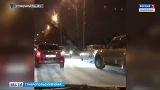 Ставрополье замело снегом