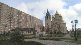 Праздничная литургия прошла в храме Святого равноапостольного князя Владимира.