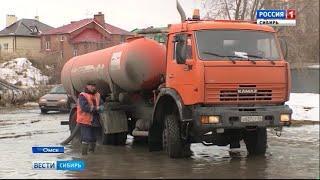 В Омске дороги ушли под воду