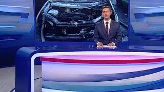 В поселке Кузнечиха вспыхнул автомобиль