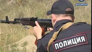 Пензенские силовики соревновались в стрельбе из автомата Калашникова