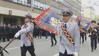 UTV. Уфимские полицейские вышли на парад в честь трехсотлетия ведомства