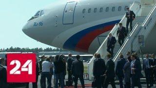 Президент России прилетел в столицу Финляндии - Россия 24