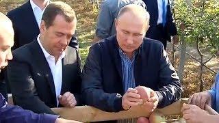 Владимир Путин провел совещание по аграрным вопросам на Ставрополье.