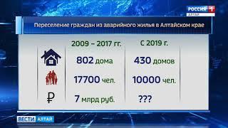 В Алтайском крае подписали региональную программу по переселению из аварийного жилья