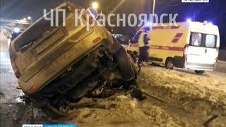 На Северном шоссе молодой водитель протаранил бетонный блок и погиб