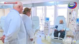 Руководитель ФОМСа  провел обход в Республиканской клинической больнице