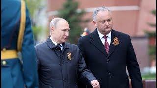 Президент Молдовы Додон попал в ДТП
